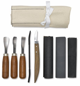 Sculpture House Soapstone Carving Set Picture 285