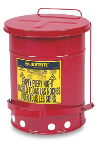 Justrite Oily Materials Waste Cans Image 1291