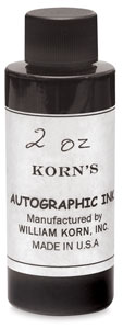 Korns Autographic Ink Image 1383
