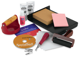 Speedball Ultimate Fabric Paper Block Printing Kit Image 1516