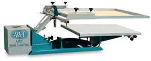 Awt Screen Eze Screen Printing System Photo