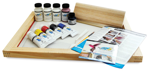 Daler Rowney System Screen Printing Set Photo