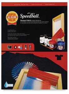 Speedball Opaque Iridescent Screen Printing Ink Image 1702