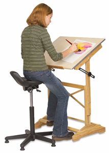 Alvin Synchro Tilt Painters Stool Photo