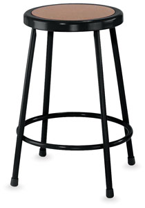 National Public Seating Corp Fixed Height Stool Image 2356