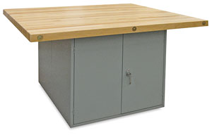 Hann Four Station Locker Type Workbench Image 32