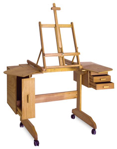 Mabef Painting Workstation Easel M Image 672