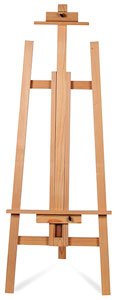 Richeson Adjustable Pine Lyre Easel Image 641