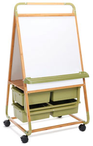 Copernicus Double Sided Bamboo Easel Picture 113