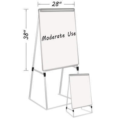 Mastervision Dry Erase Quad Pod Presentation Easel Photo