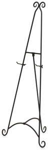 Xylem Pierre Wrought Iron Display Easel Image 842