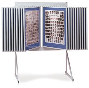 Multiple Swinging Panel Display Photo