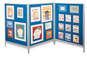 Multiple Display Exhibit System Photo