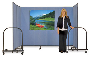 Screenfle Portable Room Dividers Image 492