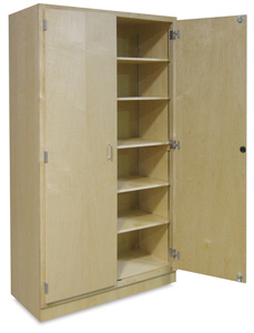 Hann Hardwood Storage Cabinet Photo