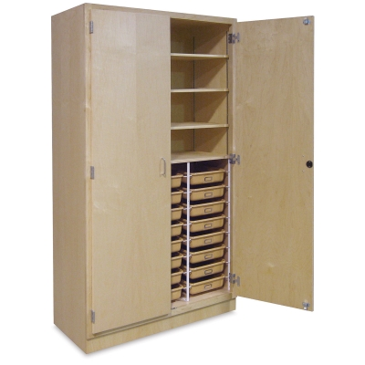 Hann Tote Tray Storage Cabinet Image 40