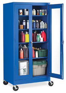 Visual Mobile Storage Cabinets Photo