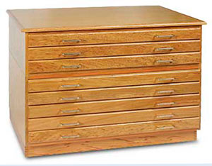 Richeson Oak Flat Files Image 2492