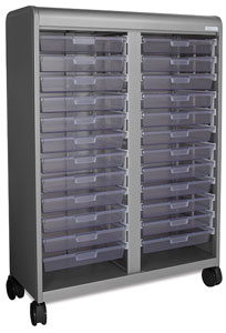 Smith System Cascade Mega Tower Tote Tray Storage Unit Picture 72