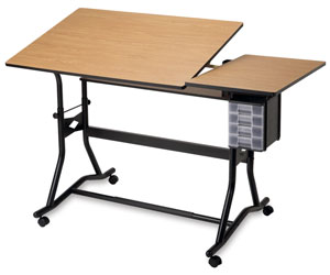 Alvin Craftmaster Iii Split Top Deluxe Hobby Drawing Station Photo