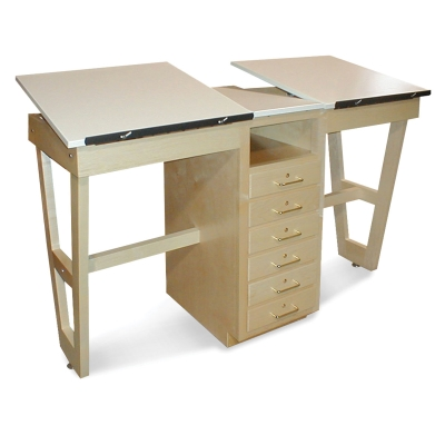 Hann Dual Station Drafting Table Picture 1023