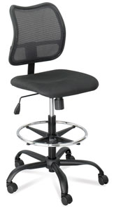 Safco Vue Extended Height Mesh Chair Photo