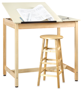 Diversified Woodcrafts Drawing Table Photo