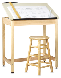 Diversified Woodcrafts Drawing Table Image 186