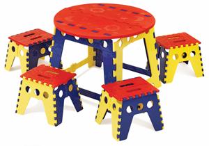 Martin Universal Design Legacy Easy Folding Kids Table Set Photo