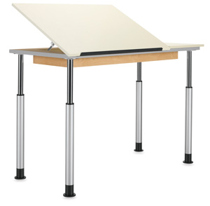 Diversified Woodcrafts Adaptable Drawing Tables Image 76