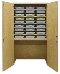 Hann Tote Tray Garage Cabinet Photo