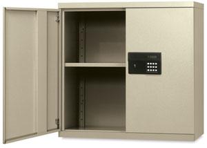 Sandusky Lee Keyless Electronic Wall Cabinet Image 757