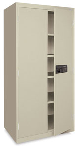 Sandusky Lee Keyless Electronic Welded Storage Cabinet Image 204