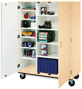 Isystems Mobile Storage Cabinet Image 78