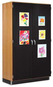 Diversified Woodcrafts Canvas Door Display Cabinet Image 43