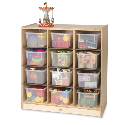 Whitney Brothers Cubby Storage Cabinet Image 376