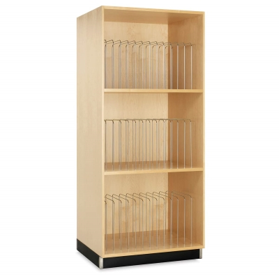 Diversified Woodcrafts Portfolio Canvas Storage Cabinet Picture 33