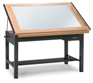 Mayline Ranger Steel Light Table Image 2