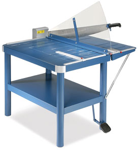 Dahle Premium Series Large Format Guillotine Trimmer Stand Photo