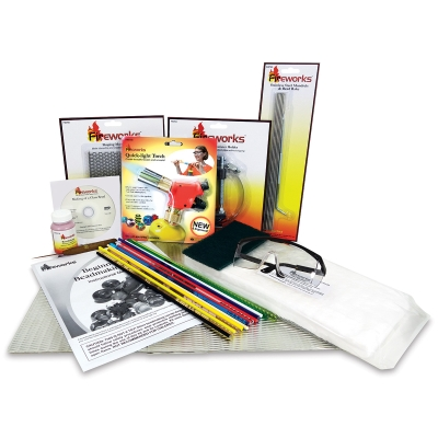 Fireworks Beginners Essentials Glass Beadmaking Kit Image 709