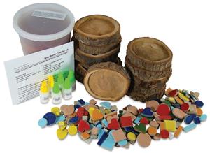 Woodland Mosaic Coaster Kit Photo