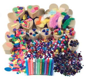 Creativity Street Papier M Ch Decorating Kit Image 2165