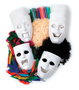 Creativity Street Masks Activity Kit Image 1548