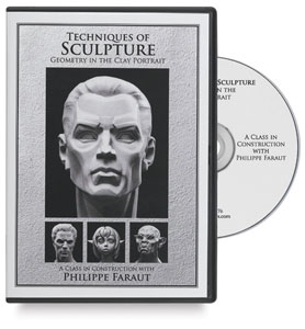 Techniques Of Sculpture Geometry The Clay Portrait Dvd Image 1842
